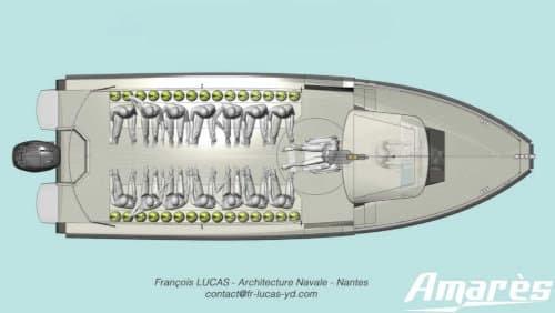 Amarès, Amarès 865 Plongée