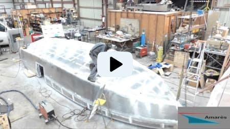 amares.fr - Térénez 8.80 - Type : bateau aluminium à moteur
