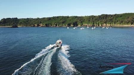 amares.fr - Térénez 8.80 Cabine - Type : bateau aluminium à moteur