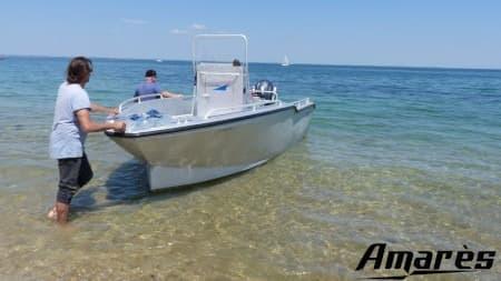amares.fr, Amarès 570, bateau aluminium de plaisance