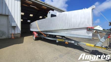amares.fr, Reverse 4.60, bateau aluminium, plaisance et professionnels
