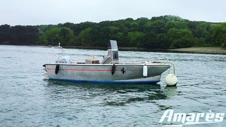 amares.fr, Steredenn 570, bateau aluminium de plaisance
