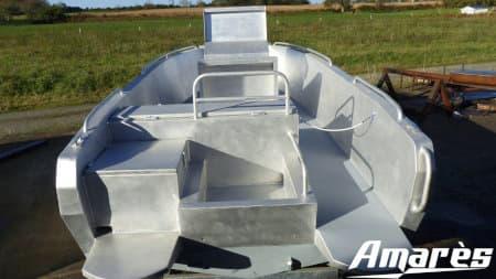 amares.fr, Térénez 5.80, bateau aluminium, plaisance
