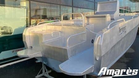 amares.fr, Térénez 5.80, bateau aluminium de plaisance