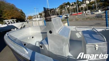 amares.fr, Coryphène 22, bateau aluminium de plaisance